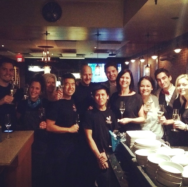 The Fable team welcomes the new year (@fablekitchen/Instagram)