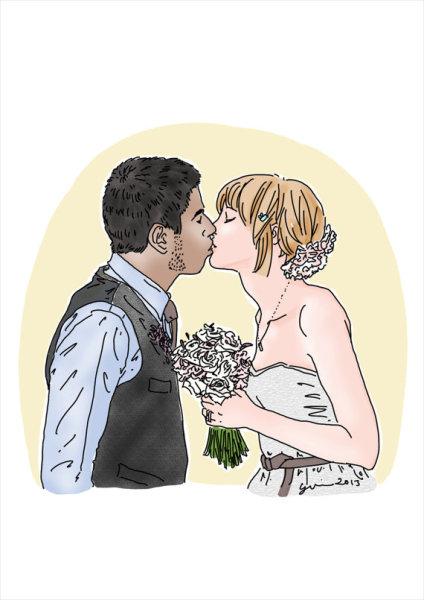 The happy couple (LuvFirstSite).