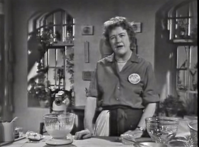 Julia Child (Screenshot/YouTube)