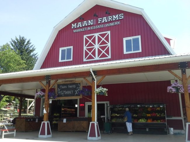 Mann Farms as it stands today. Photo courtesy Maan Farms