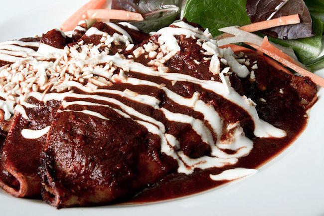 Ancho Enchiladas (THE MEXICAN ANTOJITOS Y CANTINA/Facebook)