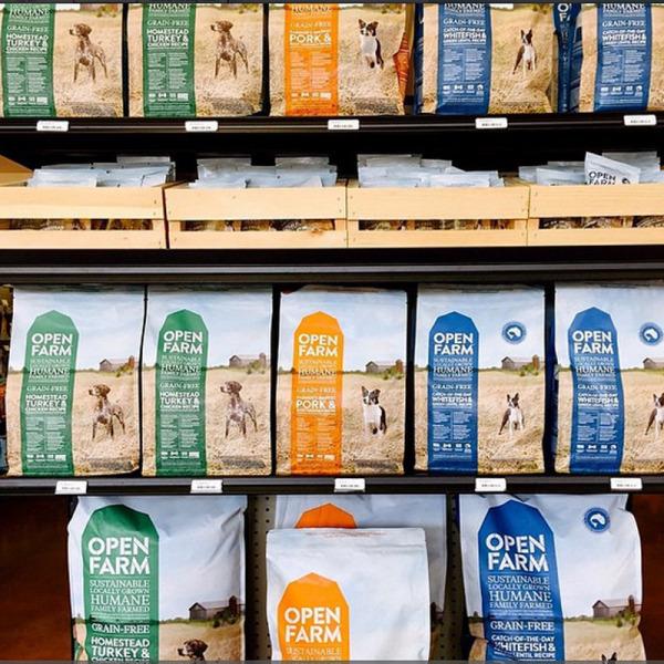 Open Farm pet food products. (Instagram)