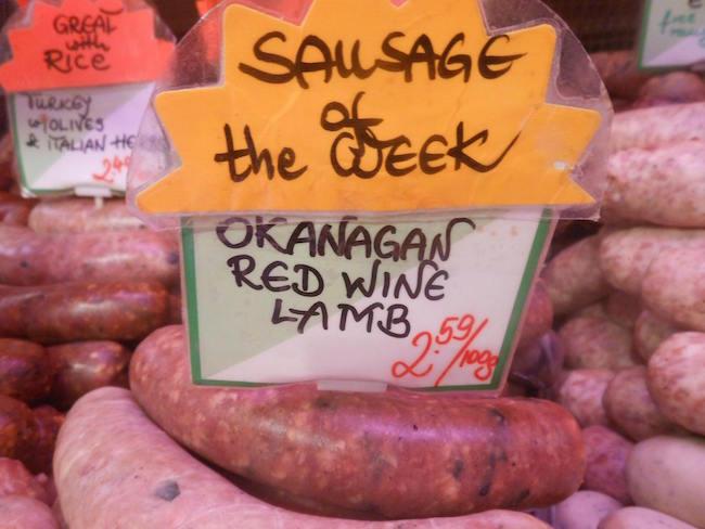Sausage at Oyama (Oyama Sausage Co. on Granville Island/Facebook)