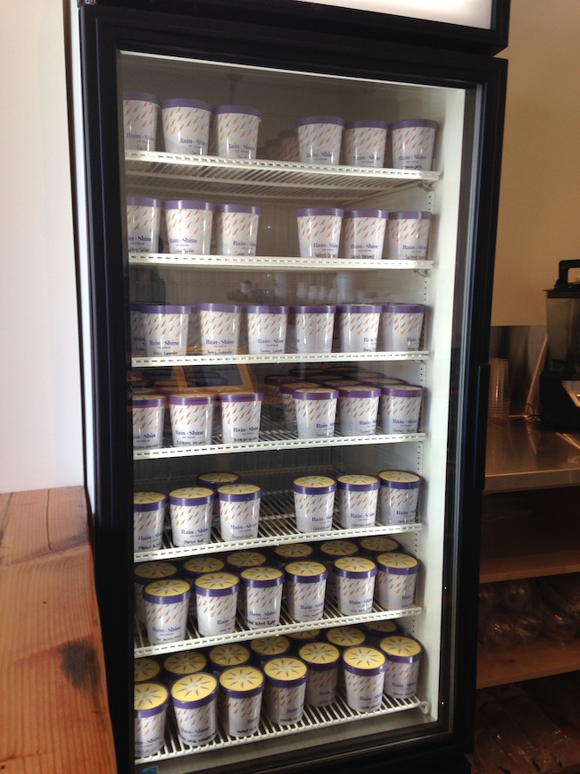 A freezer full of pints (Lindsay William-Ross/Vancity Buzz)