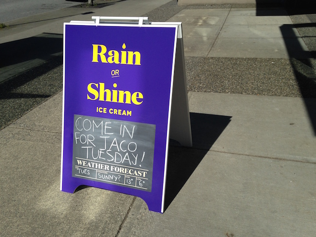 Taco Tuesdays are a popular event at Rain or Shine (Lindsay William-Ross/Vancity Buzz)