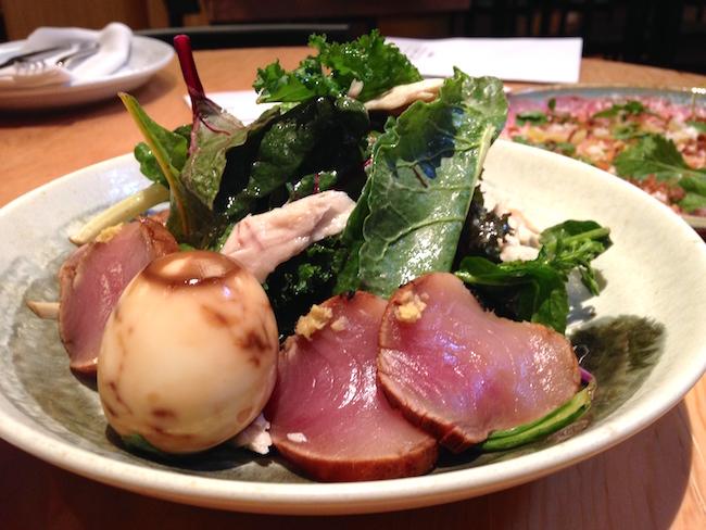 Tuna Salad at Sai Woo (Lindsay William-Ross/Vancity Buzz)