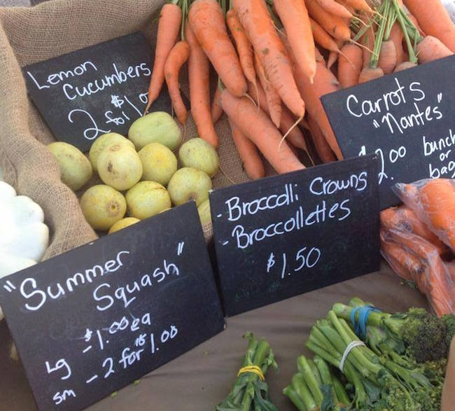 On The Farm Vegetables (Photo by Ling W via Steveston Farmers and Artisans Market/Facebook)