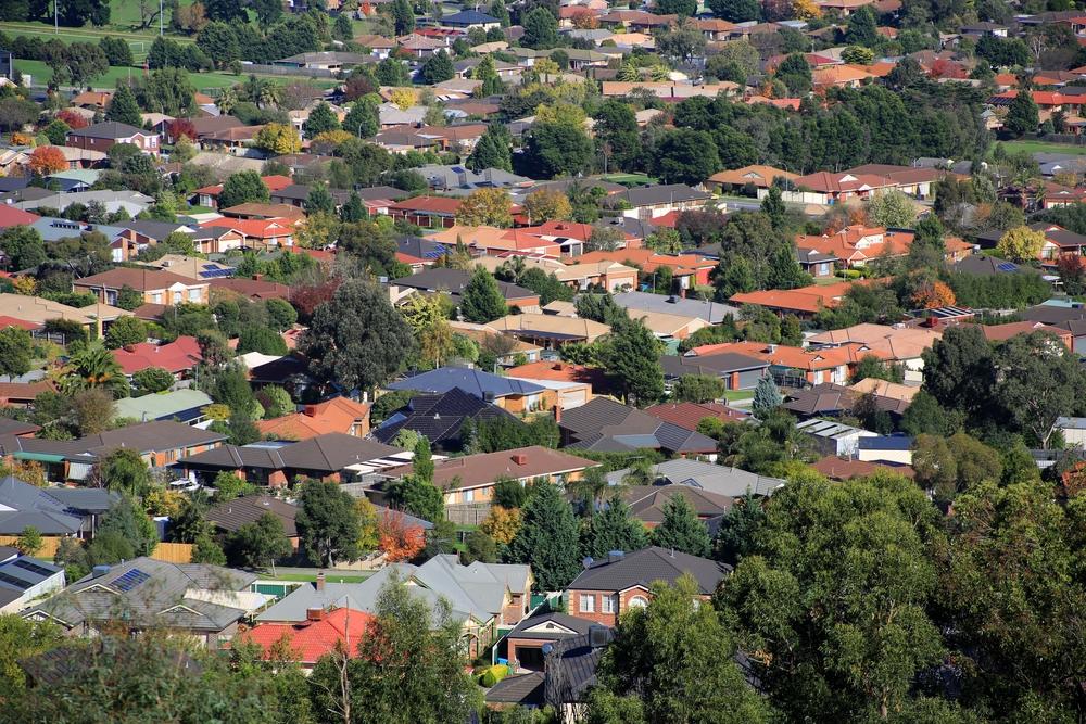 Image: Urban sprawl via Shutterstock
