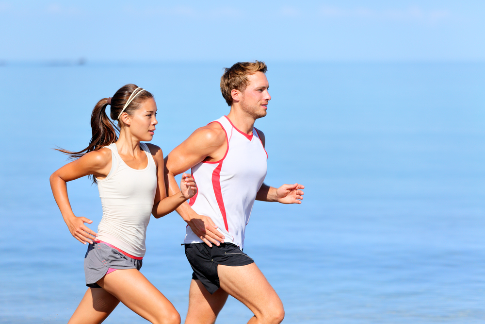 Image: Young people running via Shutterstock