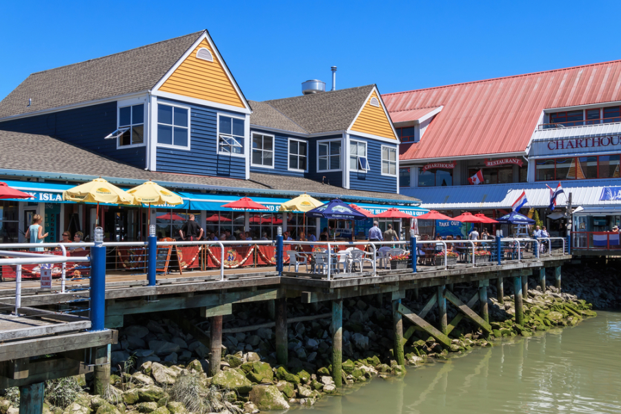 Steveston Village via Shutterstock