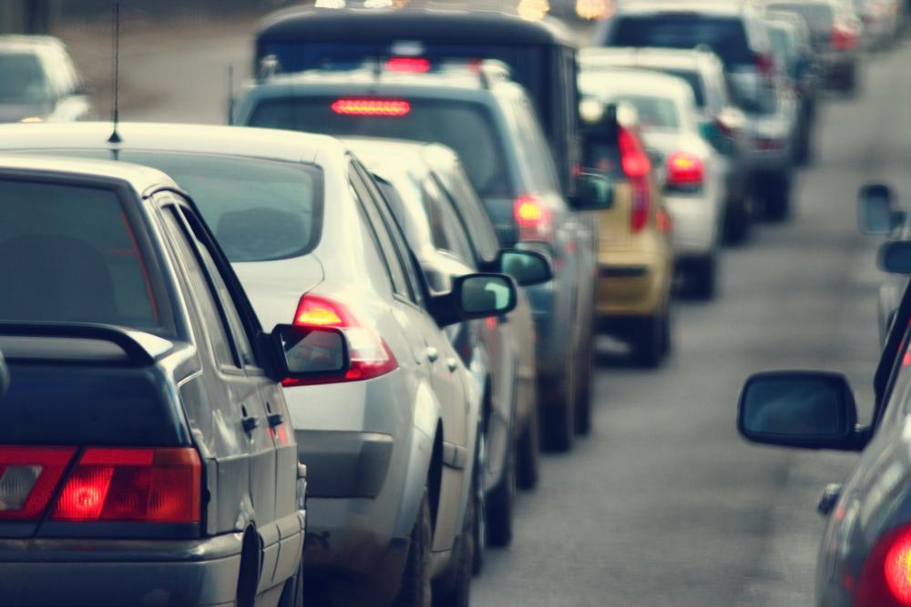 Image: Traffic jam via Shutterstock