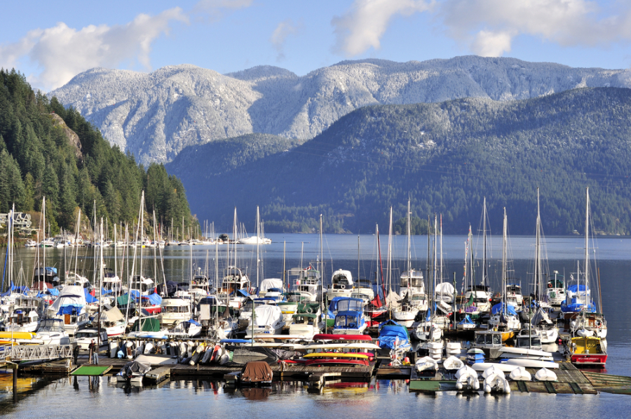 Deep Cove via Shutterstock