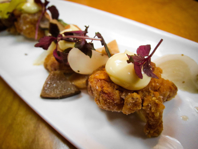 Sweetbreads karaage at Black Hoof in Toronto (Photo by Alan Teo/Flickr)