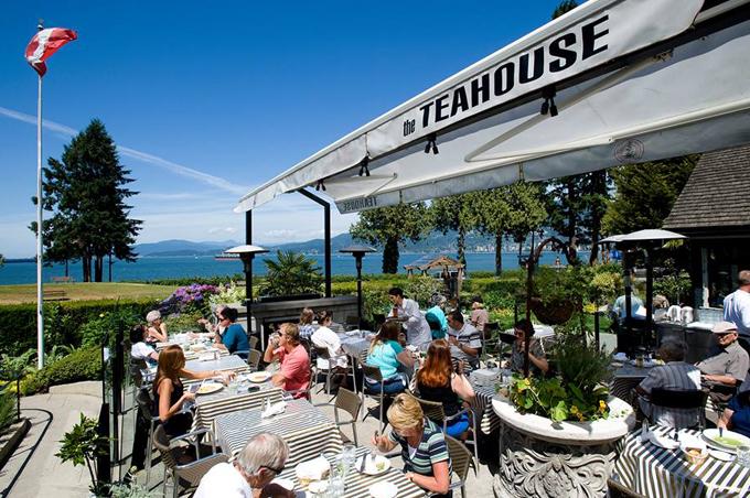 tea house stanley park - courtesy of the tea house
