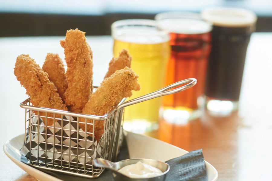 Craft Beer + Fried Pickles