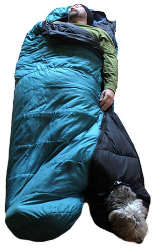 Barker Bag dog sleeping bag (BarkerBag)