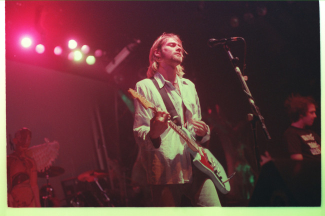 The band's last Vancouver show Jan. 3, 1994 at the PNE Coliseum. Photo courtesy of o.canada.com