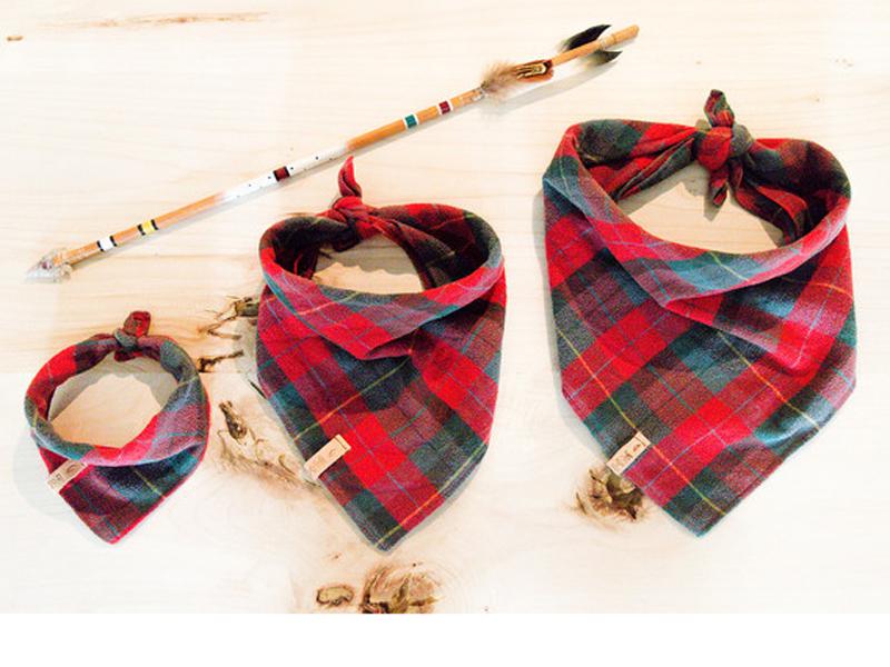 Handsome Mountain dog bandanas. (Handsome Mountain)