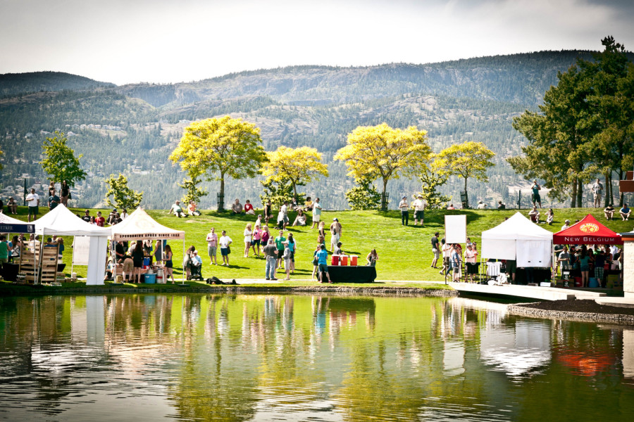 The inaugural Great Okanagan Beer Festival (Jonny Healy)