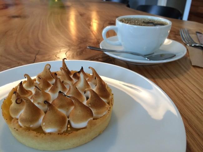 Custard and coffee (image: Dallas Carlson)