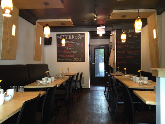 Inside Kitchen on Main St. (Lindsay William-Ross/Vancity Buzz)
