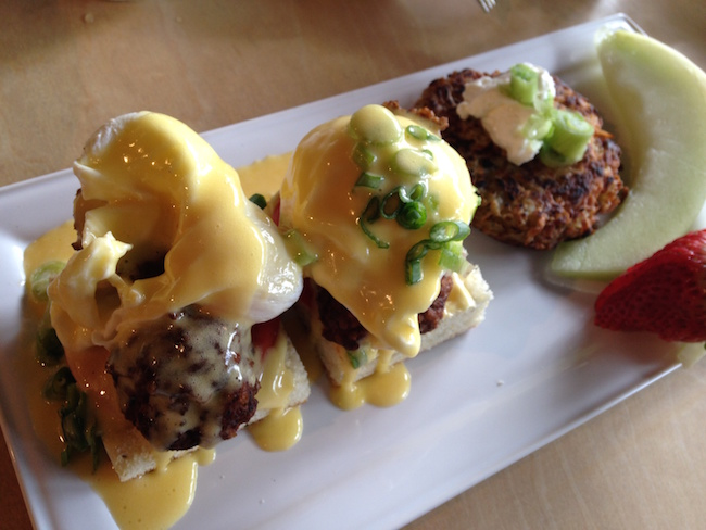 Meatball Eggs Benedict (Lindsay William-Ross/Vancity Buzz)