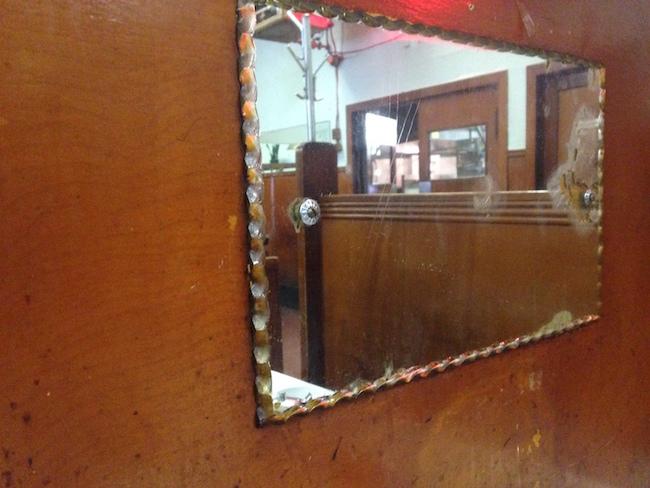 Pie crust edging on the mirrors inside (Lindsay William-Ross/Vancity Buzz)