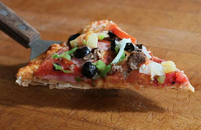 Pizza at Me-N-Ed's (Me-N-Ed's)