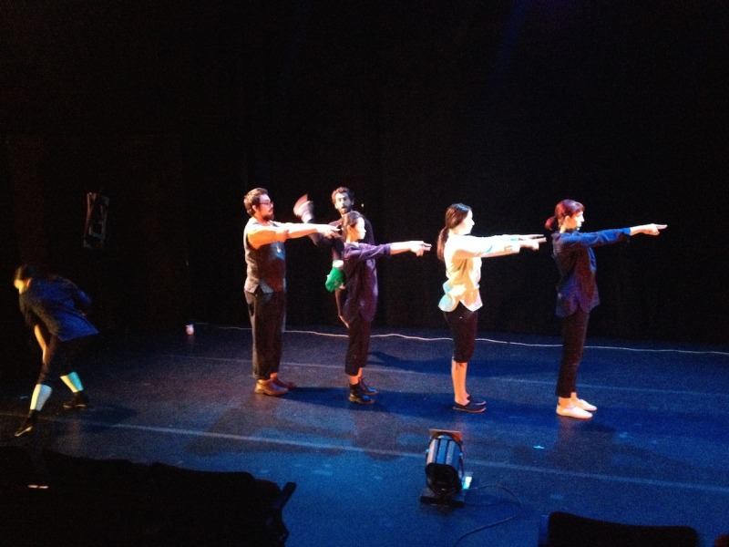 Shannon Lee, Carmine Santavenere, Sean Marshall Jr., Iris Lau, Manuela Sosa, Elysse Cheadle. Photo Angela Ferreira