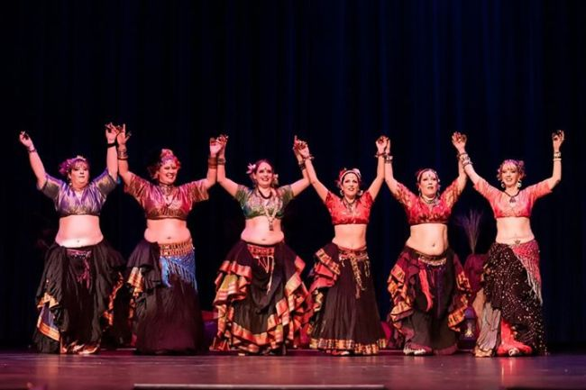 Traditional belly dance costumes Brendan Lally Photography
