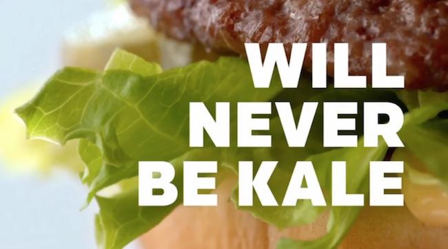McDonald's recent Big Mac ad (Screenshot/YouTube)