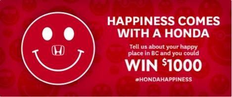 honda happiness