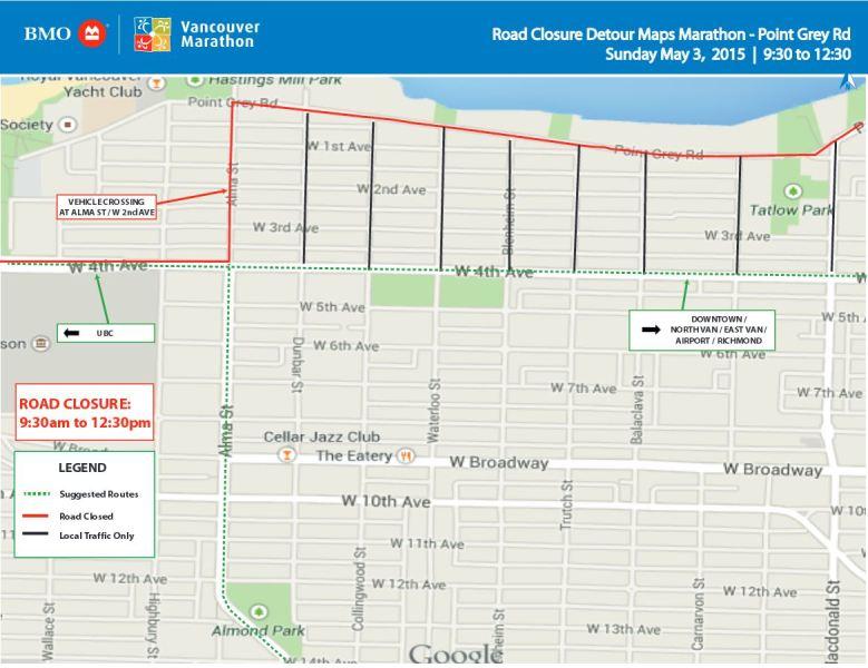 Image: BMO Vancouver Marathon