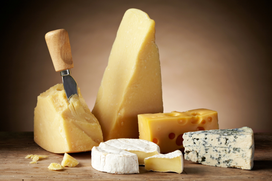 Image: Cheese via Shutterstock