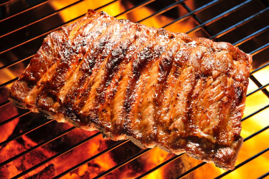 Image: BBQ pork ribs via Shutterstock