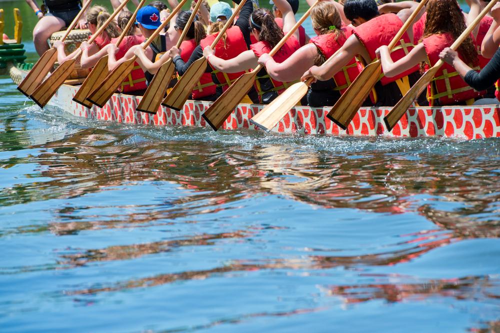 Dragon Boat races/Shutterstock