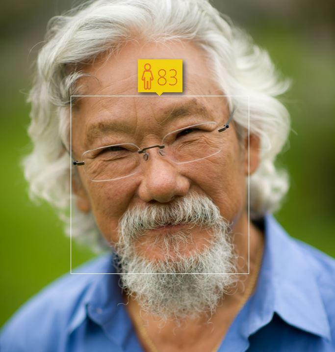 Image: David Suzuki / How Old Do I Look?