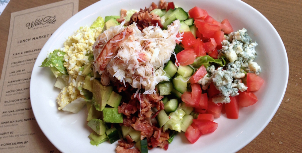 Dungeness Crab Cobb Salad at WildTale (Lindsay William-Ross/Vancity Buzz)