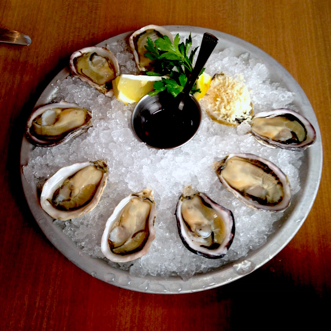 Fresh oysters  at WildTale (Lindsay William-Ross/Vancity Buzz)