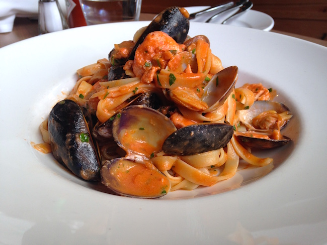 Seafood Fettucine  (Lindsay William-Ross/Vancity Buzz)