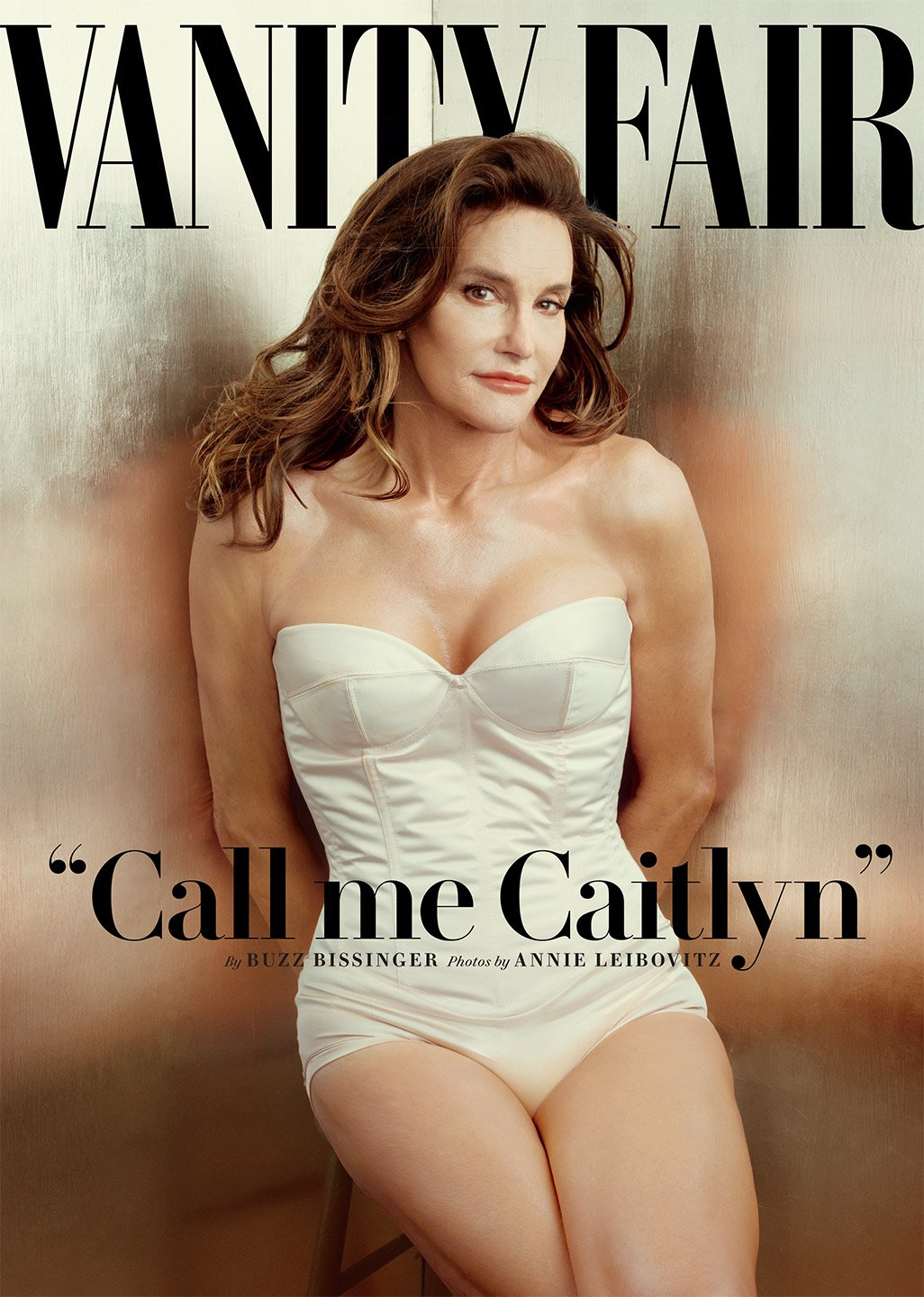 Caitlyn Jenner, Formerly Bruce, on the cover of Vanity Fair/Photo: Annie Leibovitz