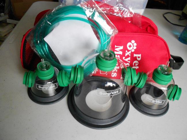Fire trucks will have four Pet Oxygen Mask Kits (nodigio/Flickr)