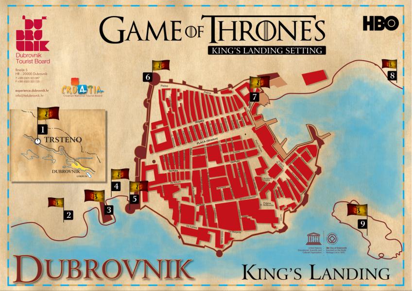 Dubrovnik King's Landing