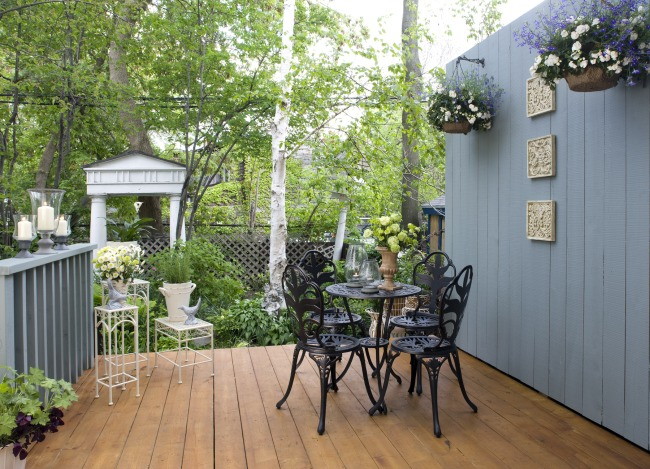 Put as much care into your outdoor living space as you do indoors