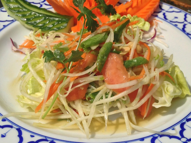 Green Papaya Salad (Lindsay William-Ross/Vancity Buzz)