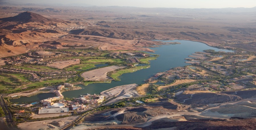 Lake Las Vegas Golf Community completely empty and bankrupt.