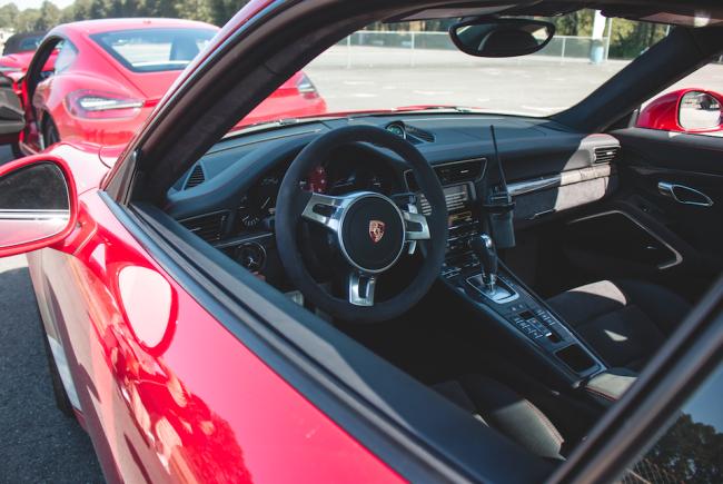 A look into a Porsche (Zack Melhus)