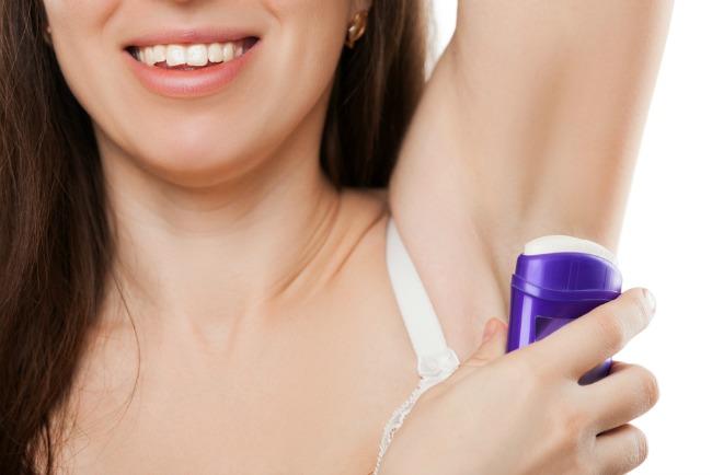 Image: Deodorant via Shutterstock