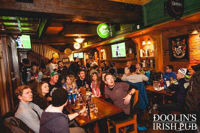 Image: Doolins Irish Pub/ Facebook