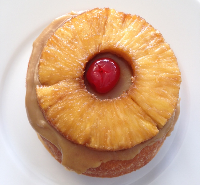 Pineapple Upside Downut at Lucky's (Lindsay William-Ross/Vancity Buzz)
